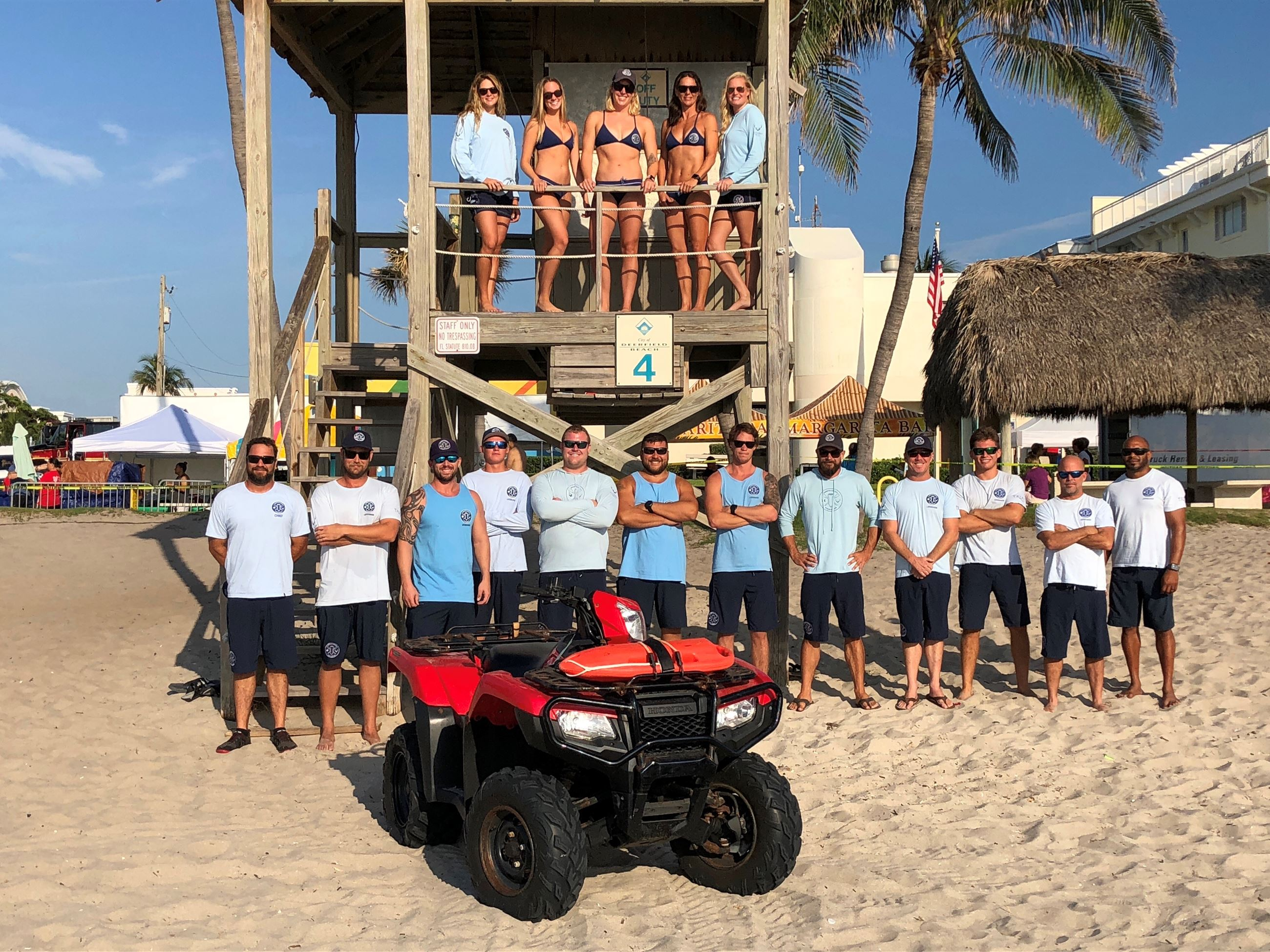 DFB Ocean Rescue Group Photo 2018