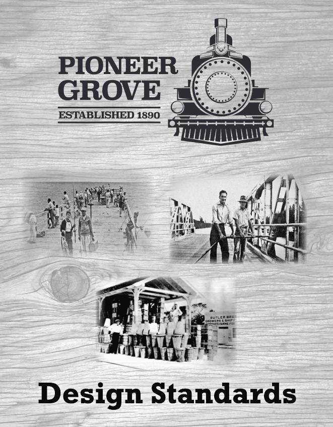 Pioneer Grove Design Standards Cover