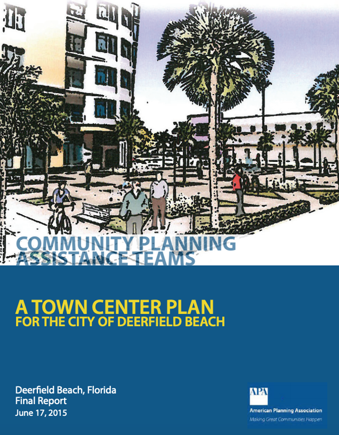 APA Town center plan cover Opens in new window